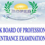 Jammu & Kashmir (J & K) Board Of Professional Entrance Examination Common Entrance Test
