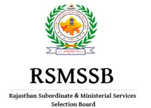 Rajasthan Subordinate and Ministerial Services Selection Board (RSMSSB)