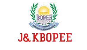 Jammu And Kashmir Board of Professional Entrance Examinations ( JKBOPEE)